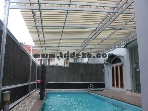 Atap Kolam Renang kanopi kaca atap canopy canopy kaca