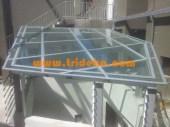 canopy kaca tempered 10