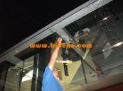 kanopi spider kaca