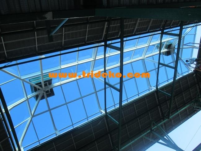 atap skylight kaca